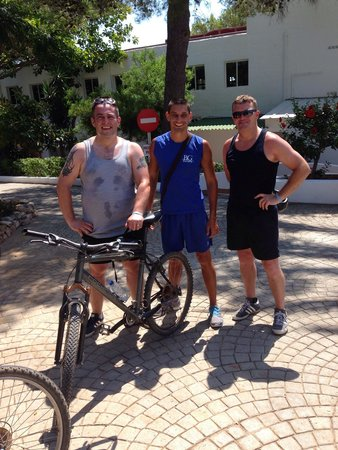 Portinatx Beach Club Hotel: Mountain Biking with Stani. Top bloke
