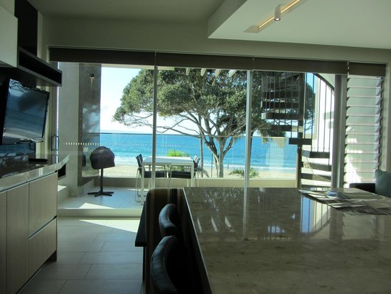 Seahaven Noosa: View from kitchen/lounge area