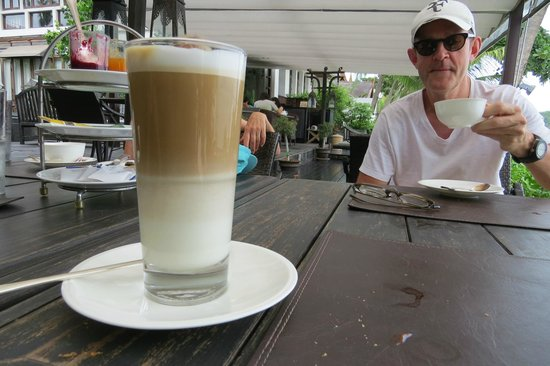 The Scent Hotel : Great lattes