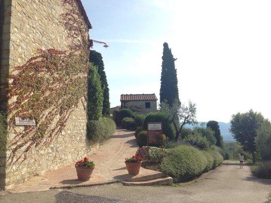 Il Borgo di Vescine - Relais del Chianti: Ingresso