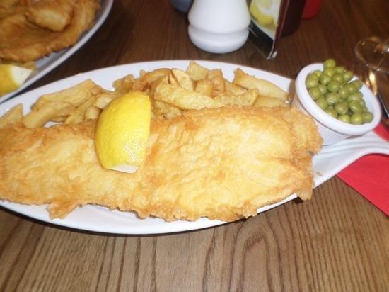 Jack Mcphee: Haddock & chips.