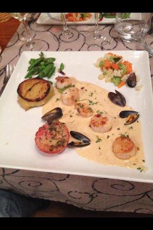 L'Ocean des Saveurs: Poele de Saint Jacques menu à 31.50€