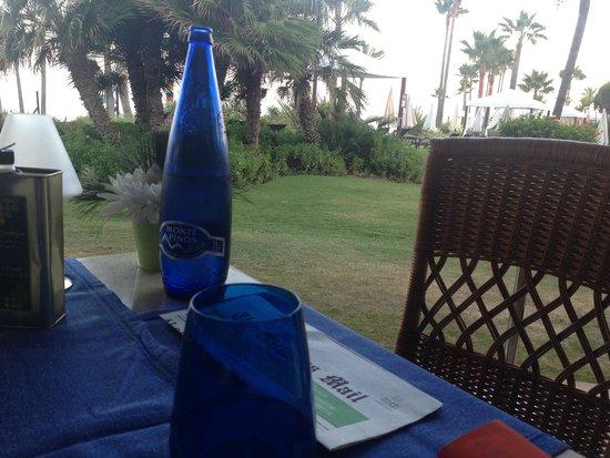 Kempinski Hotel Bahía: Vista desde La Cabaña del Mar