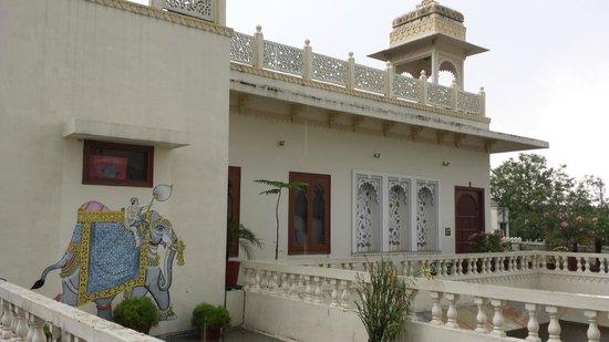 Hotel Mahendra Prakash: Top floor