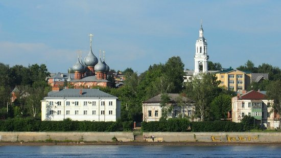 Monastery of st Ipaty: View from the bridge