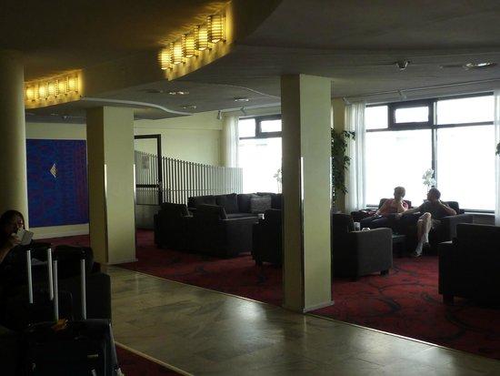 Cumulus Pohjanhovi: В холле отеля