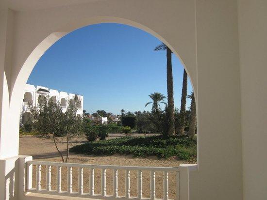 Djerba Sun Club: ausblick auf die weitläufige hotelanlage