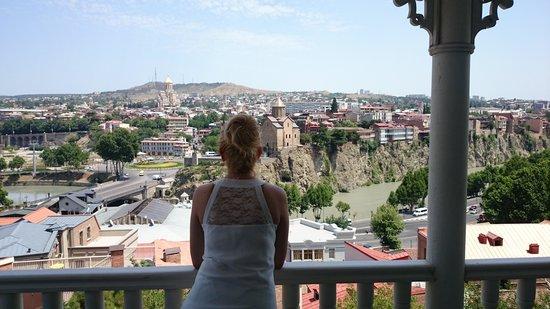 Hotel Citadel Narikala: view