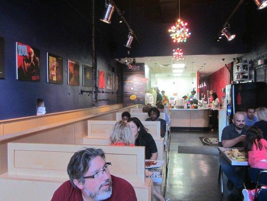 BGR The Burger Joint: Interior