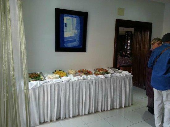 Hotel Parador: salle a manger bien présenter