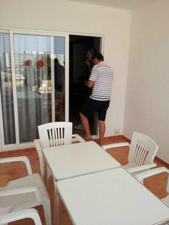 Apartments Vista al Puerto : terraza