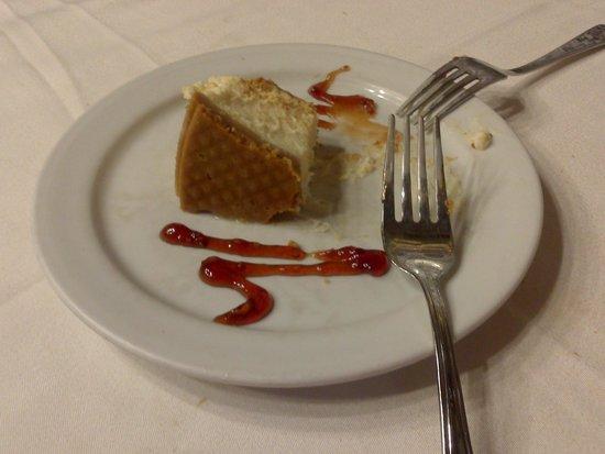 Malacatin : Fabulosa tarta de queso.