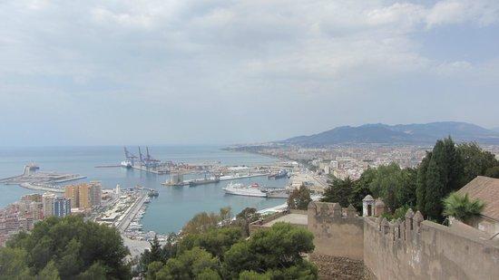 Castillo de Gibralfaro: Vista dal Castillo