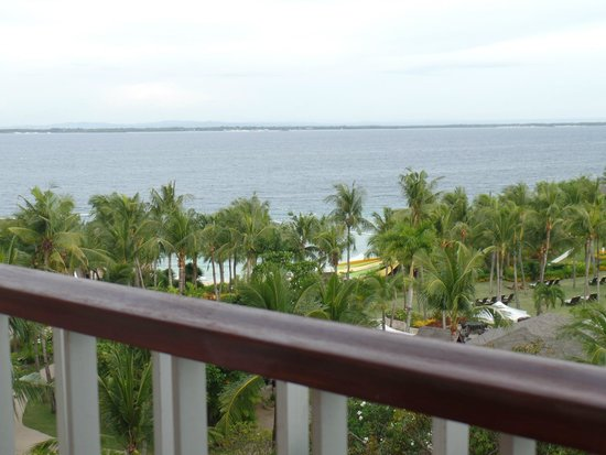 Shangri-La's Mactan Resort & Spa: view from room 1