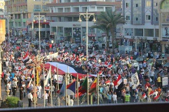 Hurghada SeaGull Beach Resort: демонстрация