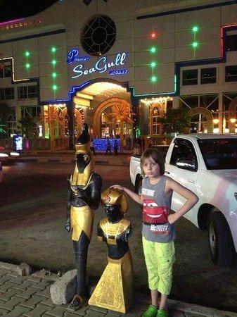 Hurghada SeaGull Beach Resort: вид на новый корпус