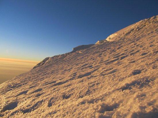 Mount Shasta : On the Hotlum-Bolum Glacier