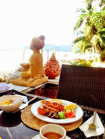 Muang Samui Spa Resort : Breakfast view