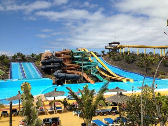 Acua Water Park: What you see is what you get.
