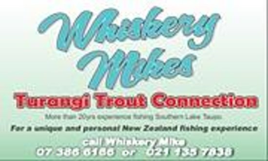 ‪Whiskery Mike's Turangi Trout Connection‬