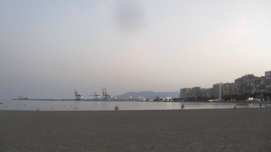 Playa de La Malagueta: La malagueta