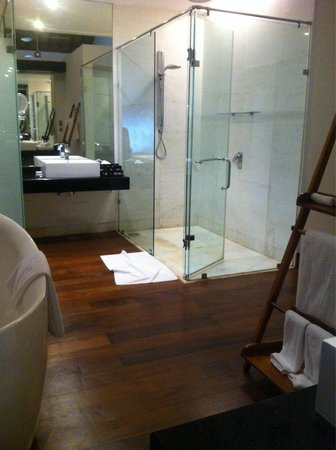 The Fortress Resort & Spa: Bathroom with his and hers
