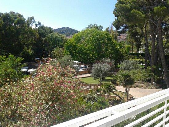 Beach Club Font de Sa Cala: vue du balcon chambre 104