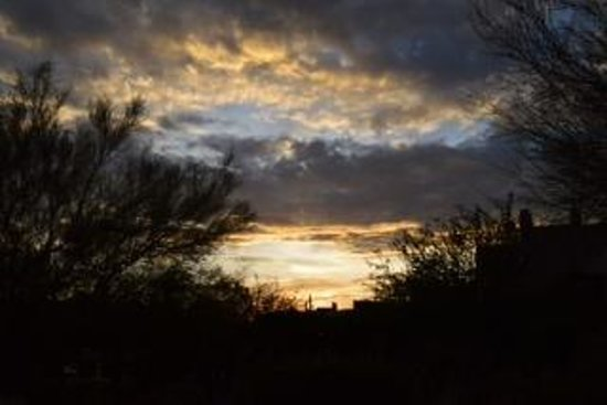 Four Seasons Resort Scottsdale at Troon North: Another beautiful sunset.
