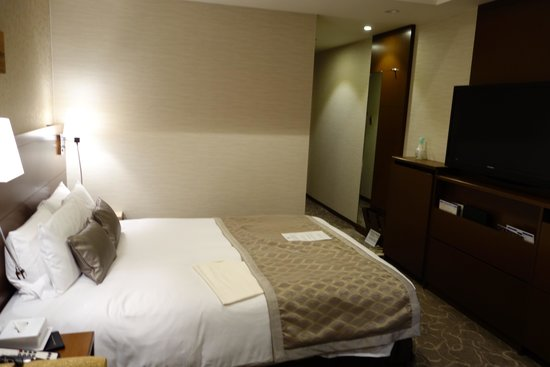 JR Tower Hotel Nikko Sapporo: twin room on 25 floor