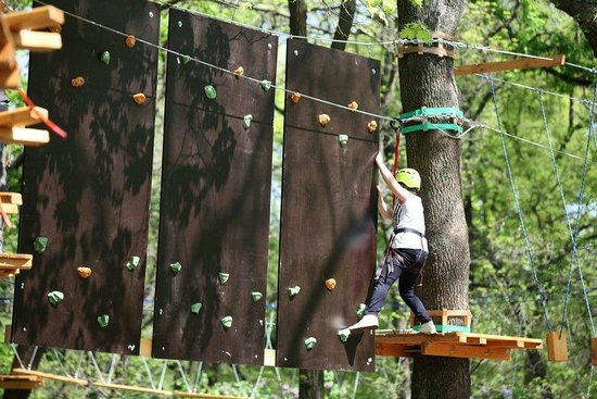 """Melitopol, Ukrayna: Веревочный парк """"ХАЙ Парк"""""""