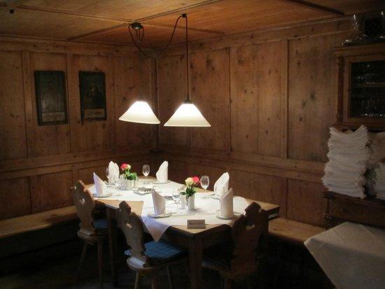 Obere Mühle: Romantische Stube