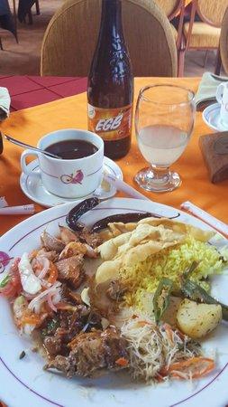Kandyan Arts Restaurant: my Lunch
