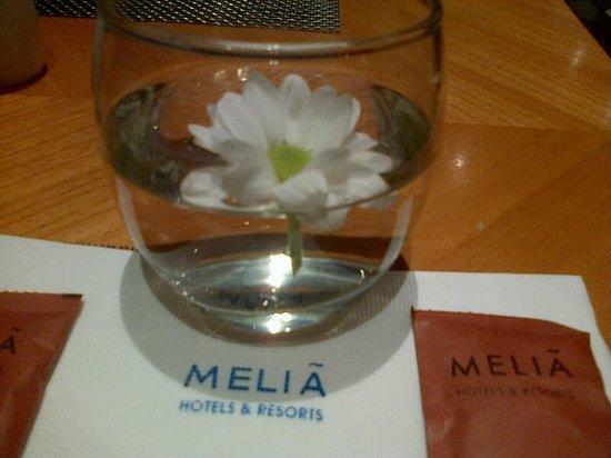 Melia Purosani: di meja makan resto