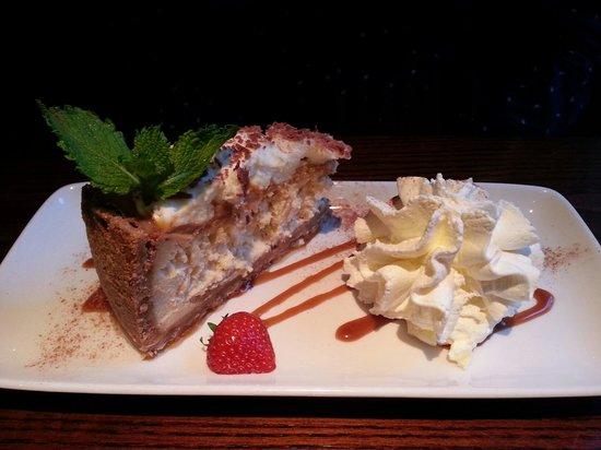 Hyltons: Banoffe cheesecake