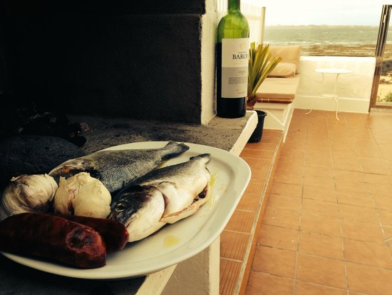 Avanti Hotel Boutique Fuerteventura: BBQ at Beach Villa