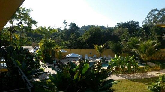 Imperatriz Paraty Hotel: Vista da varanda do hotel