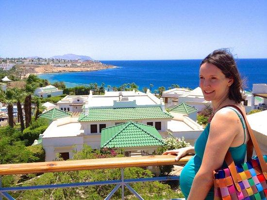 Hyatt Regency Sharm El Sheikh Resort: Just leaving our room