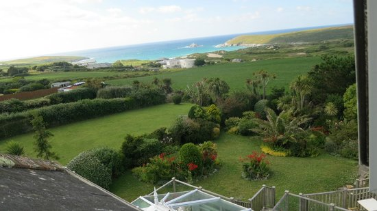 "Fairbank Hotel: View from our room ""Trevose"""