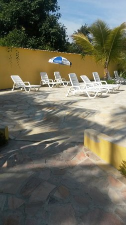 Imperatriz Paraty Hotel: A parte da piscina !