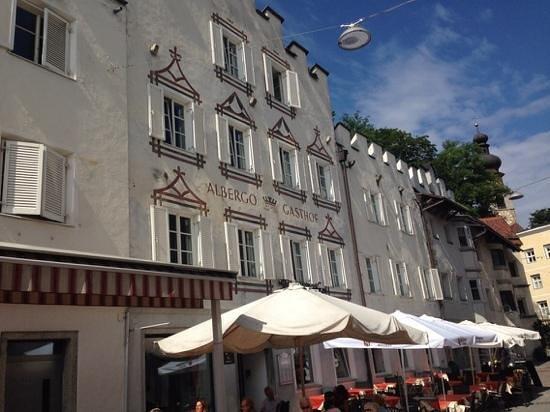Pizzeria Arc - Bistro Hotel Krone: la facciata
