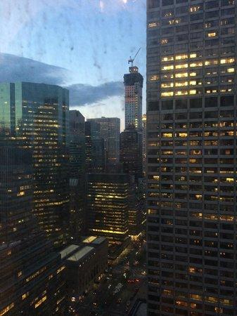 The Towers of the Waldorf Astoria: Vista dalla mia stanza al 33° piano