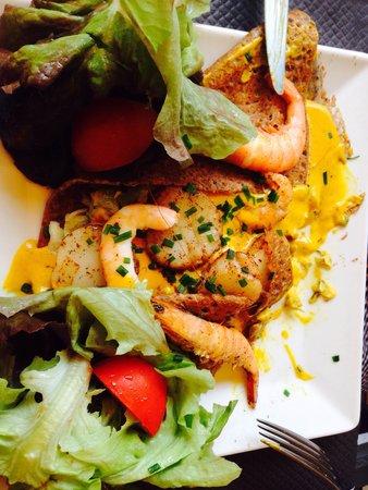La Gourmandine : Mit Meeresfrüchte