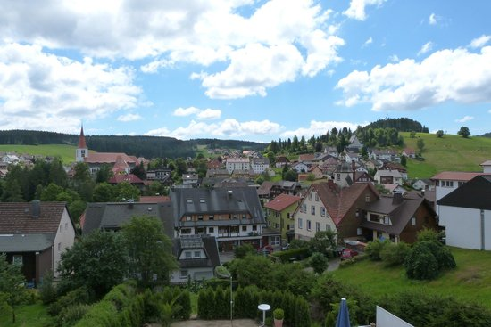 Pension Florianhof : view from balcony