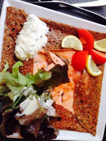 La Gourmandine : Mit Lachs