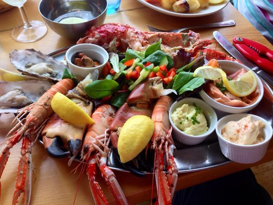 The Temple Restaurant: Seafood Platter