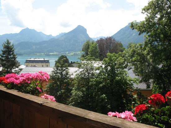 Hotel Furian am Wolfgangsee: View from our balcony