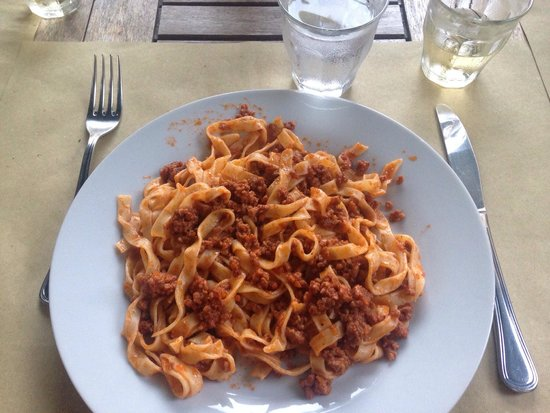 Il Geco Circolo Eno Gastronomico : Tagliatelle al ragu, the best I ever had!