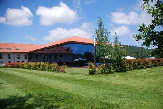 Oca Augas Santas Balneario & Golf Resort: Frescor dentro de las Termas