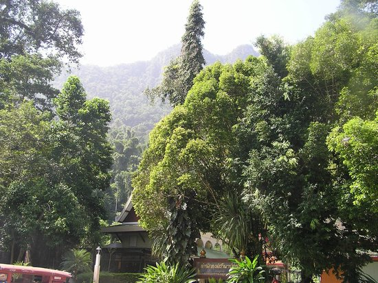 Wat Tham Pha Plong: View on the way up