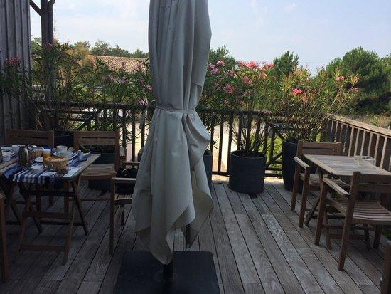 Hotel des Dunes : Dove si prende il breackfast